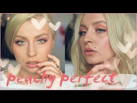 TUTORIAL PEACHY PERFECT ❤ Brzoskwiniowy Makijaż Na Wiosnę ❤ Chit Chat Makeup ThePinkRook