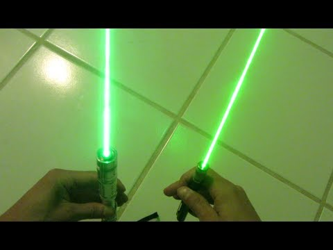 Powerful 520nm Green Laser Diode Torch! Step by Step Build