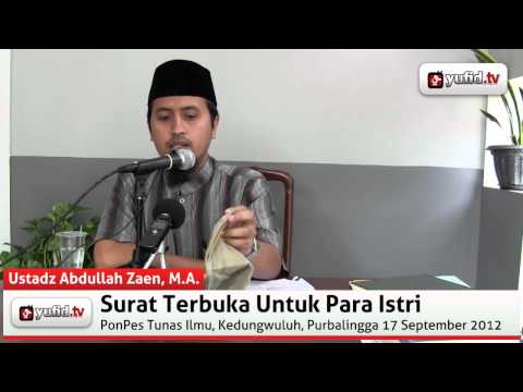 Poligami Dalam Islam (Konsultasi Agama) - Ustadz Abdullah Zaen, M.A.