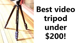 ProMaster FW29T Review - Best budget DSLR/video tripod for under $200!