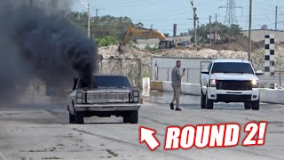 Desperate Duramax Owner Wouldn't Let Us Use Nitrous... Cummins Galaxie vs. Jeremy ROUND 2