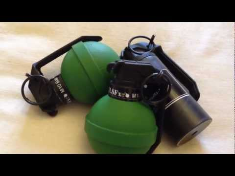 Airsoft Grenades sneak peek - new for review - TLSFx 3rd Generation pyrotechnics