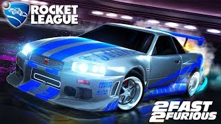 Rocket League - Novo Carro NISSAN SKYLINE da DLC Fast and Furious
