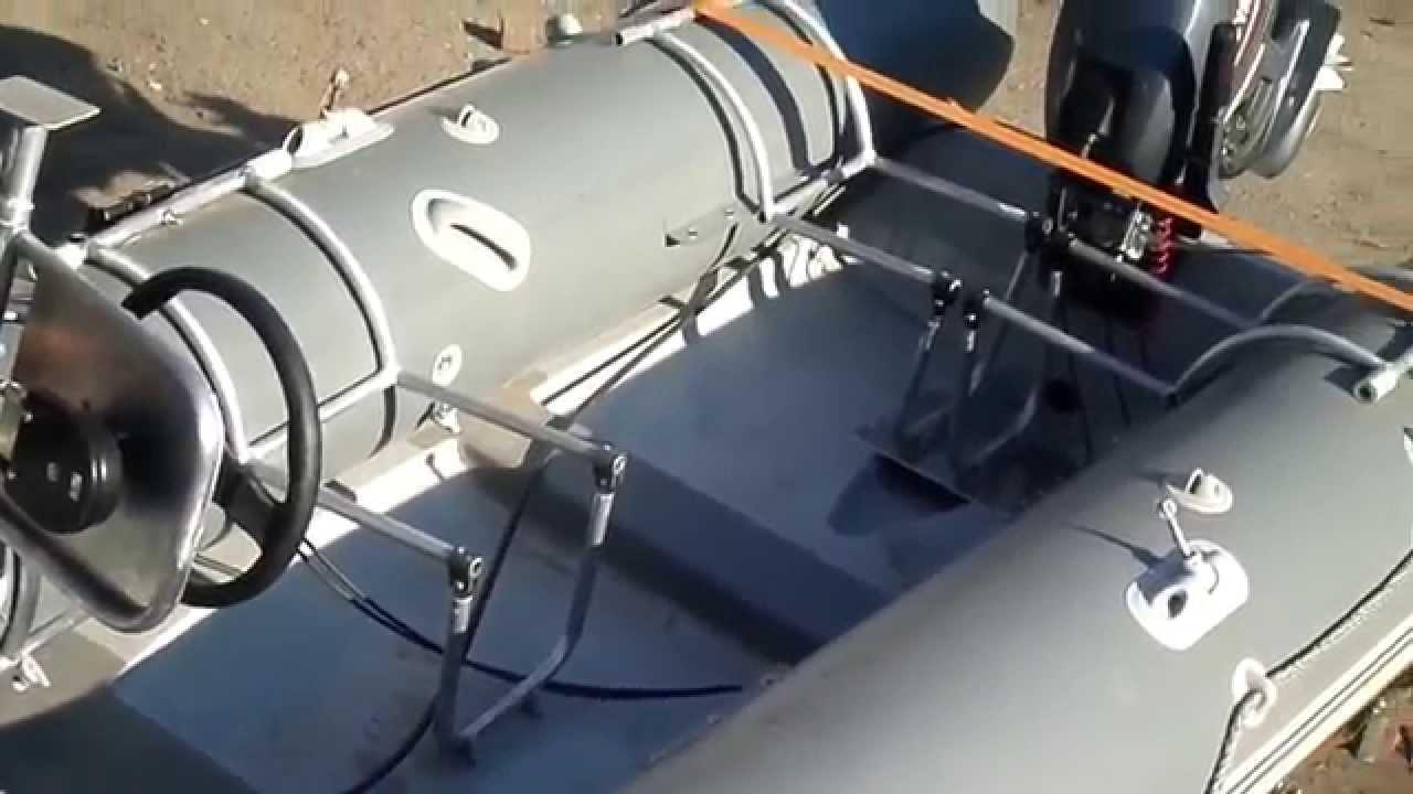 Управление лодок пвх своими руками 89