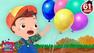 Jack be Nimble 2D +More Nursery Rhymes & Kids Songs  Cocomelon ABCkidTV