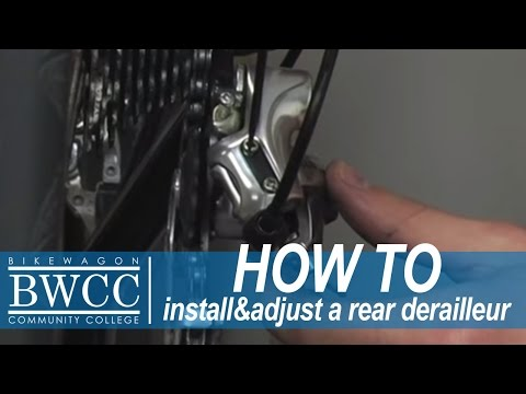Installing / Adjusting your Rear Derailleur