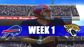 OH MY GOSH ESPN NFL 2K5 BILLS FRANCHISE WEEK 1 VS JAGS