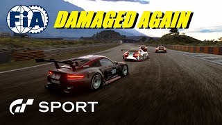GT Sport Damaged Again FIA Manufacturer Rnd 2