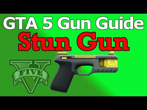 GTA 5 Gun Guide Stun Gun (Review. Stats. & How To Unlock)