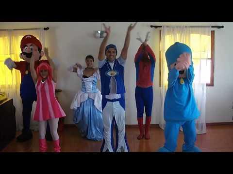 POLLITO PíO  Pocoyo spiderman lazzy town mario bross www.renos.cl