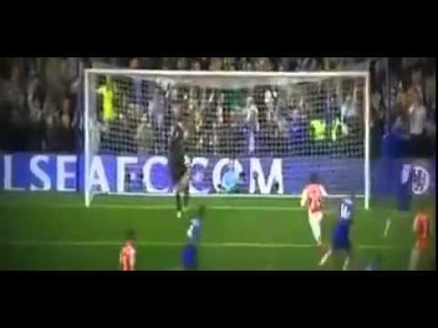 Eden Hazard Penalty Goal~Chelsea vs Arsenal Premier League 201