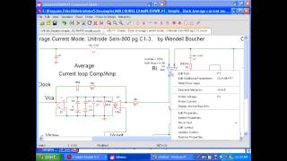 Modern Switch Mode Power Supply Design, Closing  Feedback Loops using Simplis