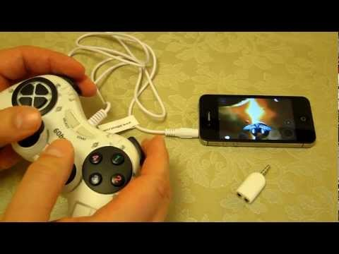 60Beat GamePad - iOS Game Controller - Hands on Review - 'No Gravity' By Realtech VR