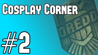 Dredd - Cosplay Corner #2 - How To Make Judge Dredd Badge from Dredd 2013 Movie TUTORIAL GUIDE