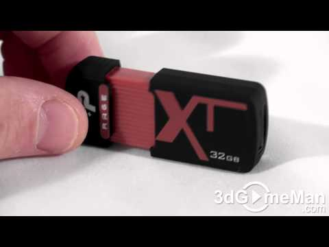 #1173 - Patriot Rage 32GB Flash Drive Video Review