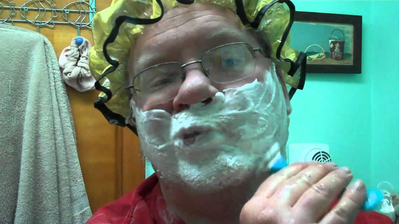 Santa claus shaves his beard youtube