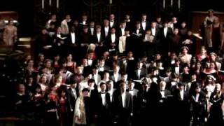 Carol of the Bells, Choir Singing a Classic Christmas Song