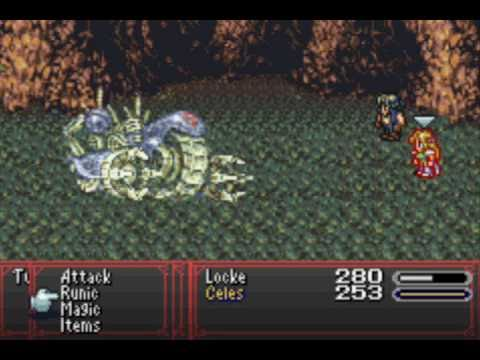 Let's Play Final Fantasy 6 Advance #9: Locke and Celes Sitting in a Tree