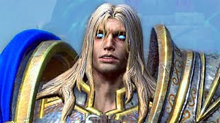 Arthas' Fall to the Dark Side Reforged. Warcraft 3 Reforged.