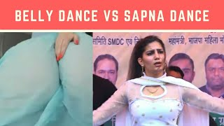 Belly Dance Vs Sapna Dance