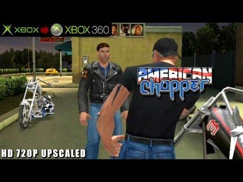 American Chopper - Gameplay Xbox HD 720P (Xbox to Xbox 360)