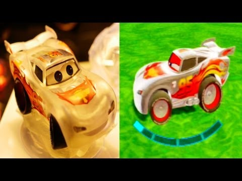 Disney Infinity Lightning Mcqueen Special Edition! Crystal Figures (Wii.PS3.Xbox360.Wii U.3DS)