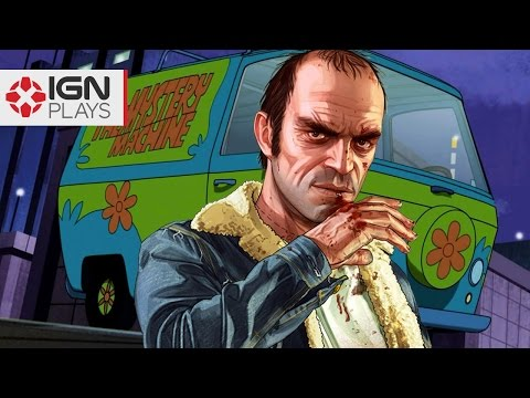 Recreating the Mystery Machine in GTA 5 - IGN Plays Live