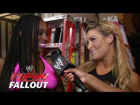 Pink & Black Attack - Raw Fallout - July 28, 2014