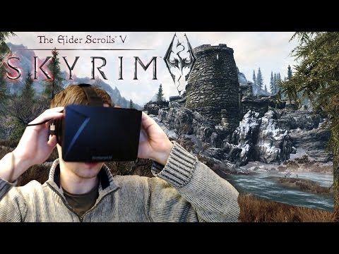 SKYRIM + OCULUS RIFT | EVERYTHING S SO BIG!!