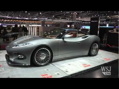 New Saab Spyker at the Geneva Motor Show