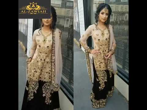 ALZAWIAH DESIGNER BEAUTIFUL PARTY WEAR DRESSES