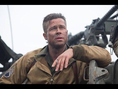 Fury (Starring Brad Pitt) Movie Review