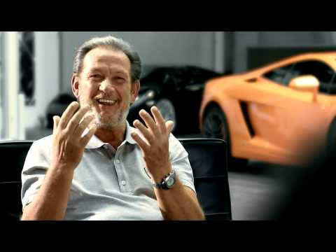 "Our brandnew Lamborghini Gallardo LP 550-2 ""Valentino Balboni"" documercial."