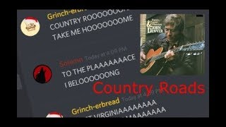 Country Roads on Discord