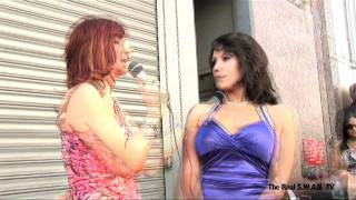 Lisa Ann/Angelina Valentine/Anjanette Astoria at the 2011 Urban X Awards - The Real S.W.A.G TV