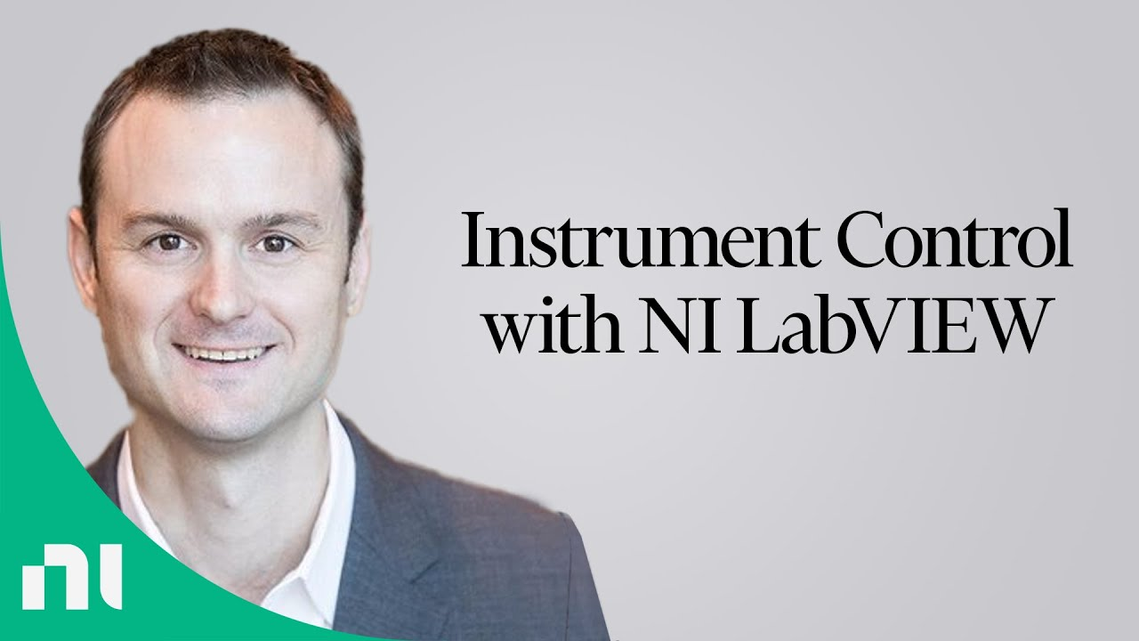 Instrument Control With Ni Labview Youtube