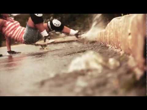 Sk8gringo Poadcast - Suellen Paiva (Sula Paiva) Skate Longboard Sessions in the Rain