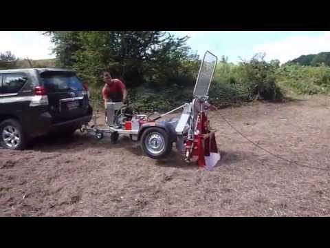 Winchtrailer FF 35: brandneue Forst-Seilwinde für Quad, ATV, SUV, Pickup, PKW.