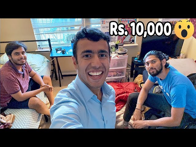 How Kanjoos Indians Live in USA! CHEAPEST APARTMENT EVER Rs. 10,000 per month
