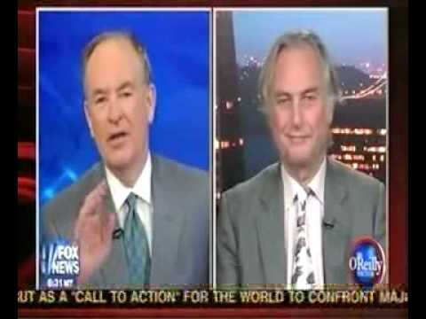 Bill O Reilly COWERS IN FEAR before Richard Dawkins