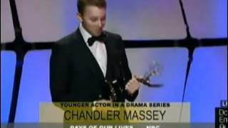 Chandler Massey .. winning outstanding younger actor Daytime Emmys 23/06/12