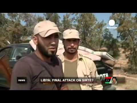 Euronews: Battle for Sirte, Libya  4/10/2011