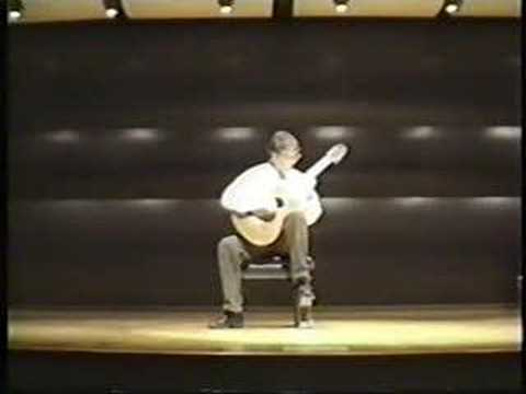 Classical Guitarist Luther Enloe - Etude 8 by Villa-lobos