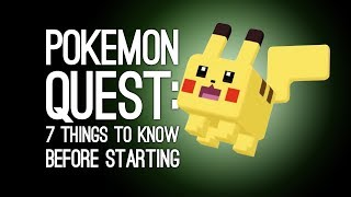 Pokemon Quest: 7 Things You Need to Know Before Starting