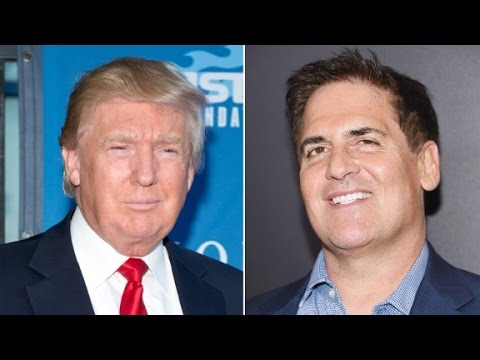Mark Cuban criticizes Donald Trump over taxes