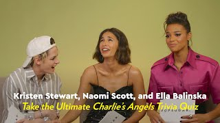 The Charlie's Angels Cast Take the Ultimate Charlie's Angels Trivia Quiz | POPSUGAR Pop Quiz