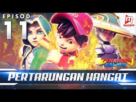 BoBoiBoy Galaxy EP11 | Pertarungan Hangat - (ENG Subtitle)