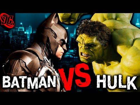ХАЛК ПРОТИВ БЭТМЕНА | СТАВЛЮ НА БЭТСА! | DC vs MARVEL | Hulk vs Batman. VERSUS Почему версусы фигня