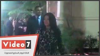 """بالفيديو .. أول ظهور للفنانة ليلى غفران بعد إنتقادها لمسلسل """"ابن حلال"""""""