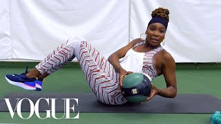 Venus Williams's 7 Best Workout Moves for a Grand Slam Body   Vogue